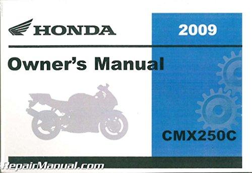 31KEN720 2009 Honda CMX250C Rebel Motorcycle Owners Manual