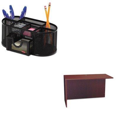 KITBSXBL2145NNROL1746466 - Value Kit - Basyx BL Series Return Shell (BSXBL2145NN) and Rolodex Mesh Pencil Cup Organizer (ROL1746466) by Basyx