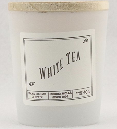 Cereria Molla Hand Poured Luxury Candle White Tea Made in Spain by Cereria Molla