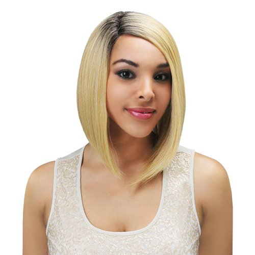 New Born Free Magic Lace Curved Part Synthetic Wig - Magic Lace 156-DYX4/BLONDE