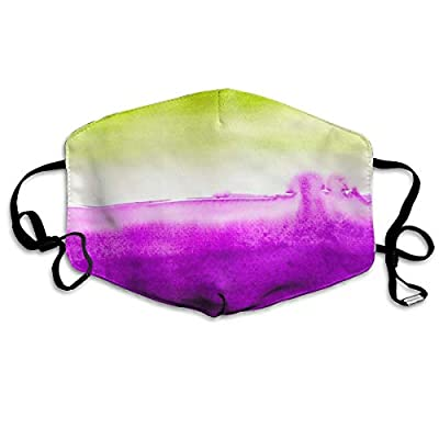 Yj-jjj Customized Watercolor Comfortable Breathable Mask, Universal Respirator Mask for Men and Women to Protect The Face