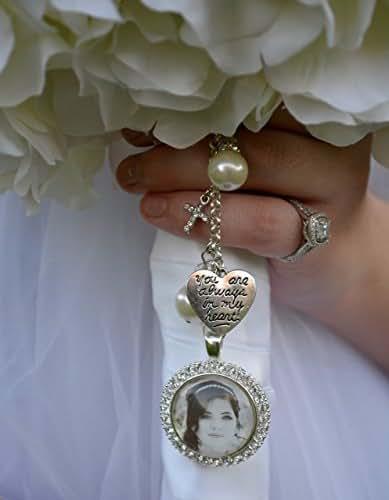Amazon.com: Bridal Bouquet Charm, Wedding Bouquet Pendant