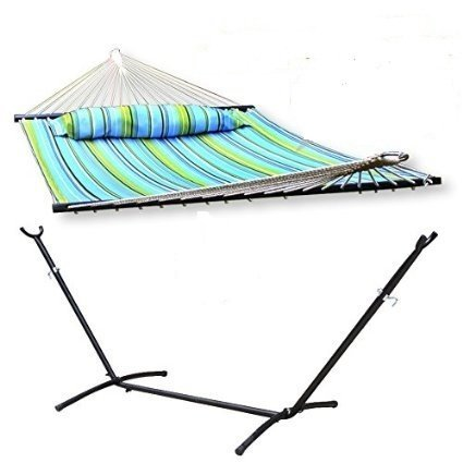 Smartxchoices Quilted Hammock Spreader Capacity