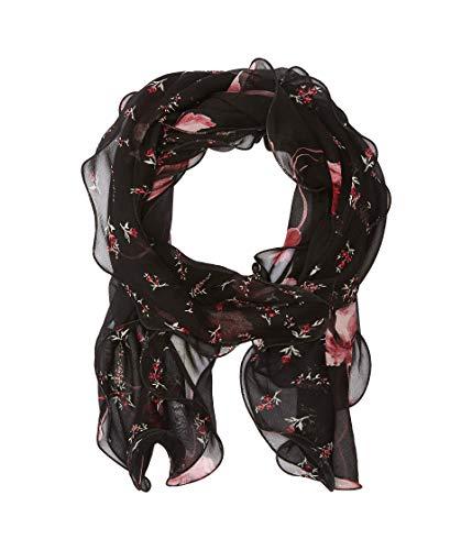 Lauren by Ralph Lauren Women's Fashion Scarves Wraps (Sonia, Black) ()
