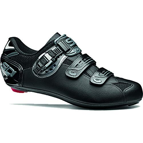 Sidi Genius 7 Carbon MEGA (EE) Cycling Shoes Shadow Black (45) by Sidi