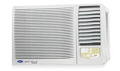 Carrier 18K Estrella Premium Window AC  1.5 Ton 5 Star Rating White Copper  Air Conditioners