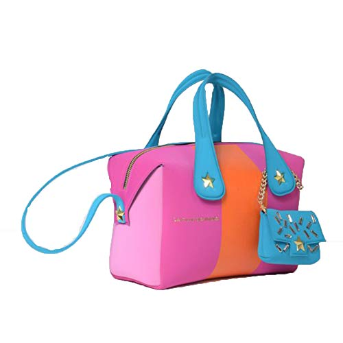 Bag blue Blue des fille La La Shoulder Women's Fleurs fille w0vTCqn
