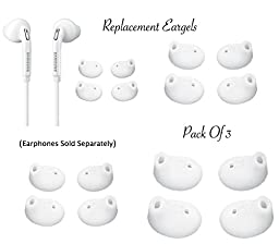 GF Pro Replacement Eargels Buds for Samsung Galaxy S6 Edge Note Earphones SIZE-M