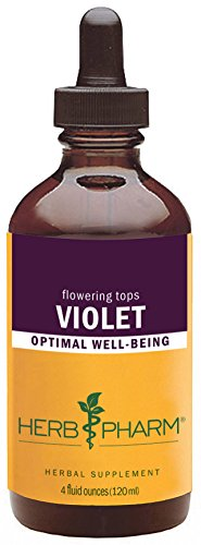 (Herb Pharm Certified Organic Violet Extract - 4 Ounce)