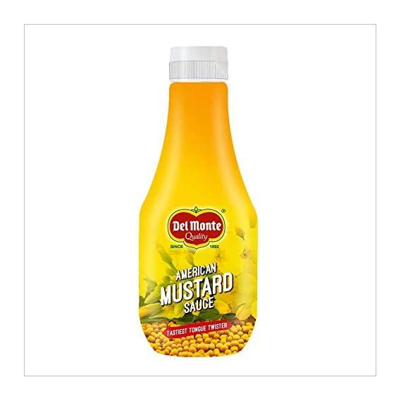 Del Monte Mustard Squeezy, 300g