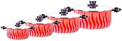 مجموعة تجهيزات المطبخ نيو تمبو مكون من 8 قطع من تيفال، متعدد الالوان - C0459862