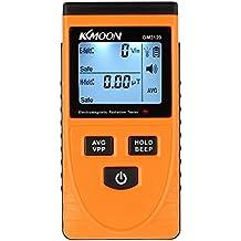 KKmoon Digital LCD Electromagnetic Radiation Detector Dosimeter Tester EMF Meter Counter