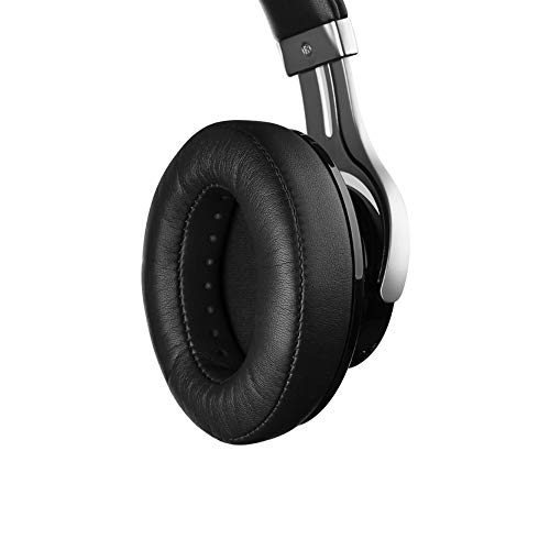 Edifier W855BT Bluetooth Headphones with Microphone, Hi-Fi Stereo Deep Bass Wireless Headphones Over Ear, Soft Earmuffs with Wired Mode for iPhone/Ipad/PC/Cell Phones/TV Travel Work Sports - Black by Edifier (Image #3)
