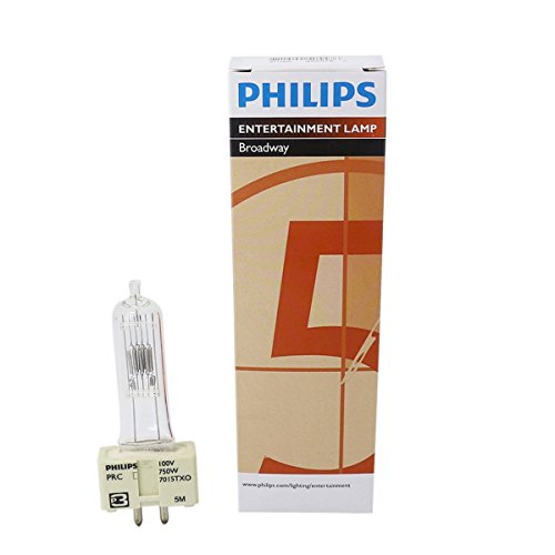 Philips 7015TXO 750W GX9.5 100V AC Reflector Lamp for The...