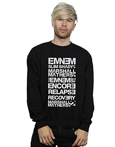 Sweat Eminem Shady Noir Absolute Titles shirt Cult Homme Slim Album 6qxwU0