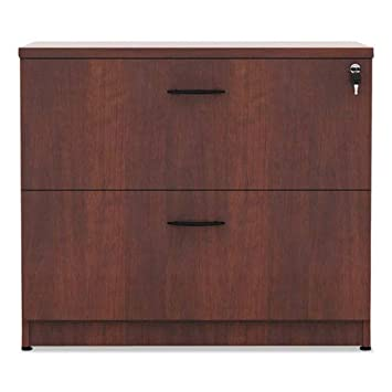 Alera VA513622MC Valencia Series Two Drawer Lateral File, 34w X 22 3 4d X 29 1 2h, Cherry