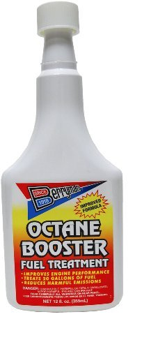 Berryman 1512 Octane Booster Fuel Treatment, 12 oz. Pour-In Long-Neck Bottle