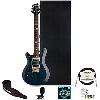 prs se custom 24 left handed electric guitar with chromacast hard case strap tuner. Black Bedroom Furniture Sets. Home Design Ideas
