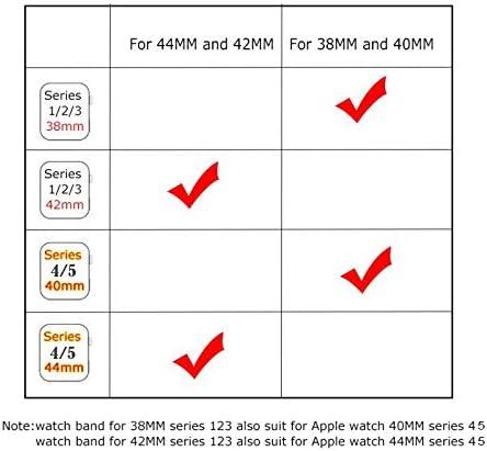 RTYW ユニバーサル時計手作りの新しいシリコーンスポーツバンド42MM 38MMラバーストラップ時計バンドのバンド40ミリメートル44ミリメートル (Band Color : Color 10, Band Width : For 42MM and 44MM)