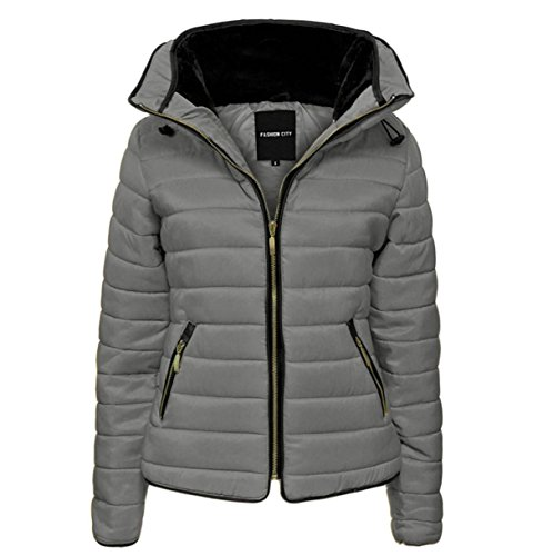 3a9a2b1d816 GLAM COUTURE NEW LADIES WOMENS QUILTED PADDED PUFFER BUBBLE FUR COLLAR WARM  THICK JACKET COAT - Buy Online in Oman. | Glam Couture Products in Oman -  See ...