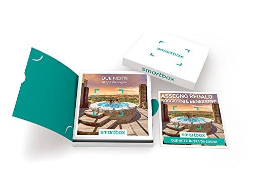 Smartbox cofanetto regalo due notti in spa da sogno