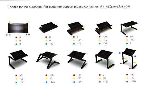 Pwr  FlexTop Lightweight Portable Folding Laptop Notebook Book ...