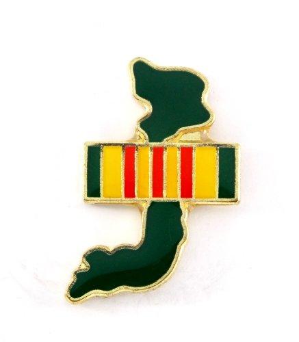 Vietnam Veteran Ribbon Lapel Hat Pin Marines Army Navy Air Force PPM742