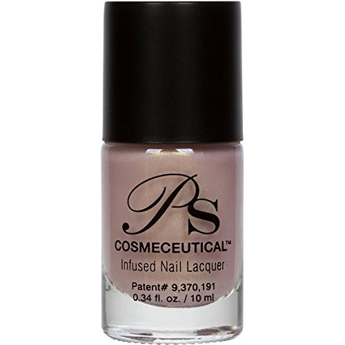 PS Polish All Natural Nail Polish, Nude Collection Non-Toxic Professional Grade Nail Art and Polish Nail Lacquer, Beige Nail Polishes for Manicure, Pedicure, Hands, Feet - MSRP $14.99 ... (Shimmer Me)