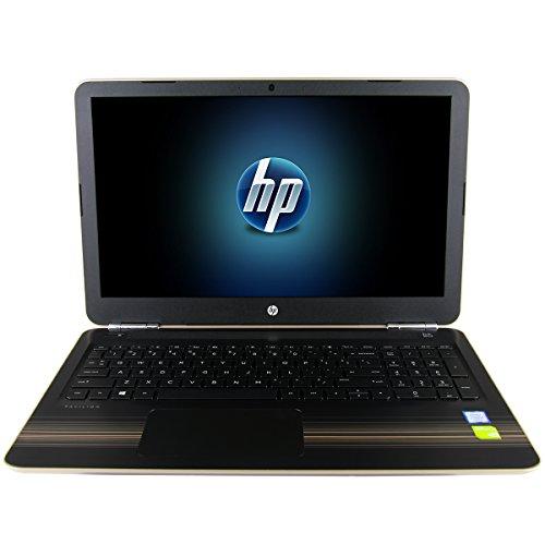 HP Pavilion 15 Notebook PC - Gold (Intel i7-7500U, 16GB RAM, 1TB HDD, NVIDIA Geforce 940MX 2GB, 15.6