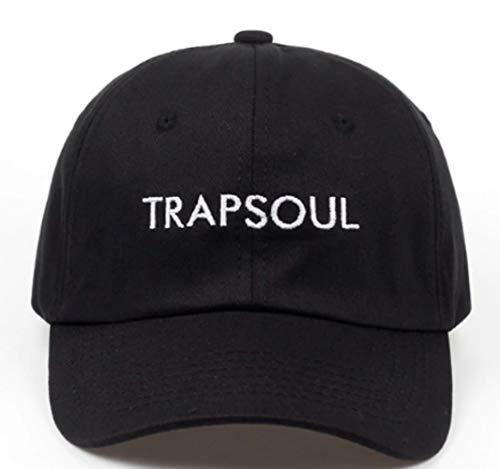 TorontoFinds, Custom dad hat for Men and Women, Trapsoul Tiller Custom 100% Adjustable Strap Back hat in Black ()