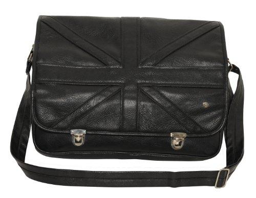 T 'nB Original UK Black Edition Case aus Kunstleder, für Notebook 39,6 cm (15,6 Zoll) schwarz