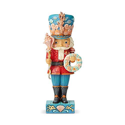 Enesco Jim Shore Heartwood Creek Coastal Nutcracker Figurine, 10.24