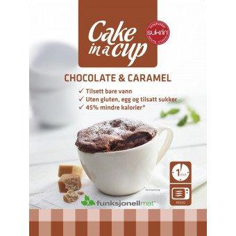 Bizcocho en Taza Chocolate & Caramelo Sukrin ...