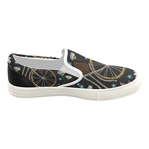 D-story Custom Sneaker Donna Slip-on Scarpe Di Tela Mullticolored7