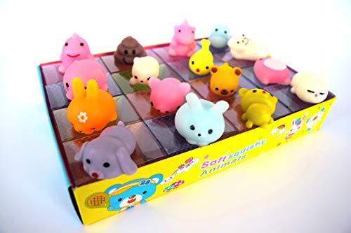 Squishy Toys Mini Animal Mochi Kawaii Soft Slow Rising Silicone Anti Stress Toys