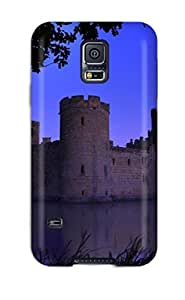 Galaxy S5 Case Cover - Slim Fit Tpu Protector Shock Absorbent Case (bodiam Castle)