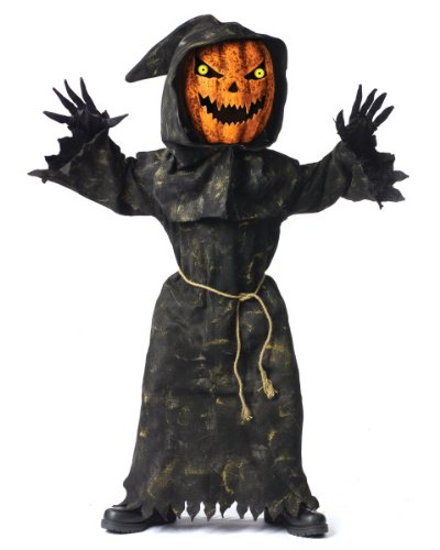 Bobble Head Pumpkin Costume - Child Costume - (Bobble Head Costume)