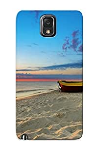 KsEGU0knemS Tpu Phone Case With Fashionable Look For Galaxy Note 3 - Rowboat Case For Christmas Day's Gift