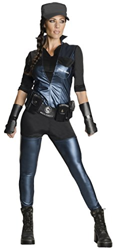 Rubie's Costume Co Women's Mortal Kombat X Sonya Blade Costume, Multi, Medium - Sexy Mortal Kombat Costumes