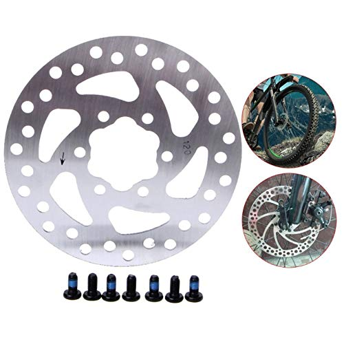 S-Vntrendy - 1 Set Mechanical Cycling Bicycle Disc Brake Rotor For 120mm Fr MTB Mountain Bike