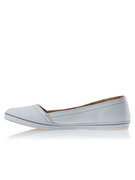 38b4277f3287 Womens Fred Perry Booker Canvas White B7097W(83) PlimSolls (UK 5)   Amazon.co.uk  Shoes   Bags