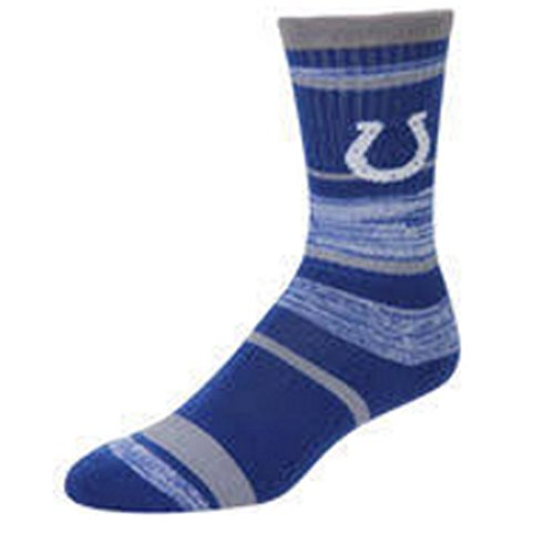 Indianapolis Colts Stripe - Fore Bare Feet Indianapolis Colts RMC Large Stripe Socks
