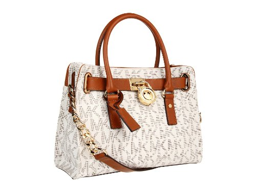 Michael Kors Hamilton MK Logo Satchel Bag - Buy Online in UAE.   Apparel  Products in the UAE - See Prices, Reviews and Free Delivery in Dubai, Abu  Dhabi, ... 3b947ae98f