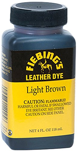 Light Brown Leather Finish (Fiebing's Leather Dye)