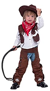 Spooktacular Creations Deluxe Cowboy Kid Costume (S(5-7yr))