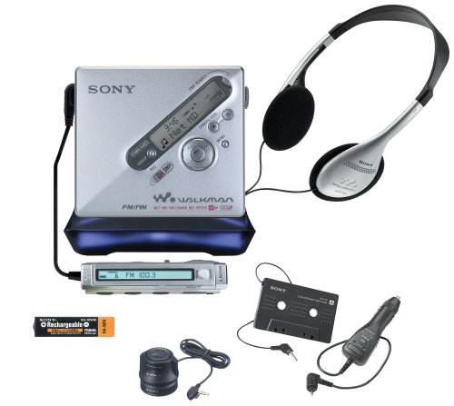 Sony MZ-NF810CK Net MD MiniDisc Recorder with Car Kit