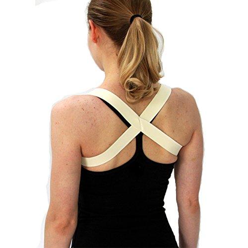 The 2 in 1 Posture Brace | Posturific Brace.com - Posture Corrector (XL Beige)