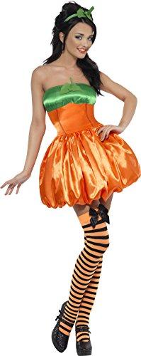 [Fever Women's Sexy Pumpkin Costume] (Adult Pumpkin Halloween Costumes)