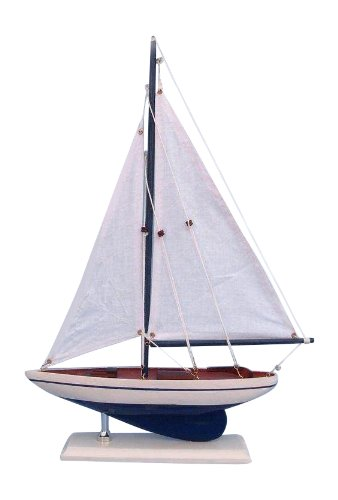 Hampton Nautical  Pacific Sailer Sails Boat, 17