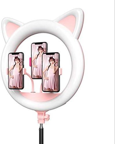 YAYONG 18 Inch Selfie Ring Light LED Video Light Studio Photography Lighting Flash On Camera Studio for Makeup Ring Light